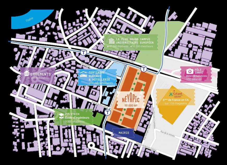 Plan environnement urbain Neyrpic