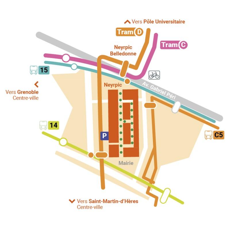 Plan transport Neyrpic